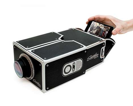 Affordable Smartphone Projectors - Luckies of London Creates an Easy-to-Use Cinema in a Box