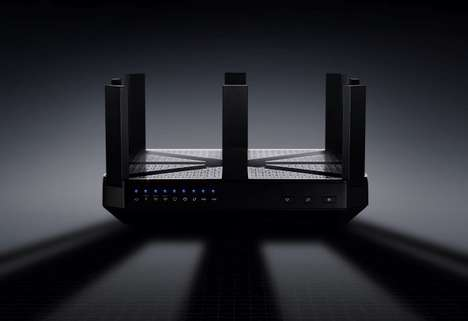Comprehensive Coverage Internet Routers - The TP-Link Talon AD7200 Router Promises No Dead Zones