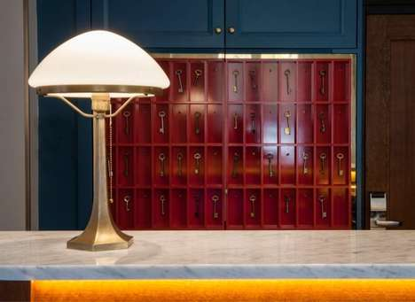 Cinematic Boutique Hotels - The Hotel Andre Latin in Paris is Inspired by the Belle Epoque Era