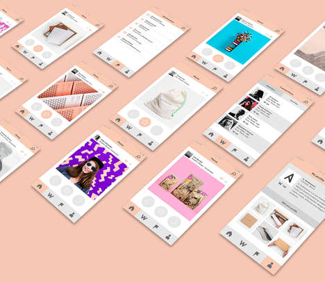 Designer Visual Directories - The WAASTAA App Connects Creatives Around the World