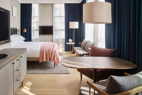 Converted Post Office Hotels - The 11 Howard Hotel in NYC Was Designed by Beyer Blinder Belle