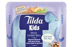 Tilda's Basmati Rice for Kids is Branded with Charming Characters