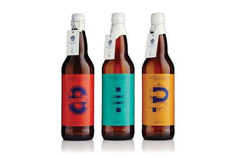 Small Batch Beer Packaging - The Swansea Brew Club Packaging Matches the Quality Ingredients