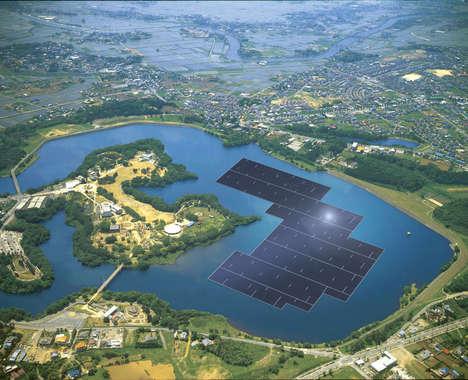 Floating Solar Power Plants