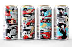 Film Festival Beer Cans - Stella Artois Created This Limited Edition Beer Can Design for Cannes