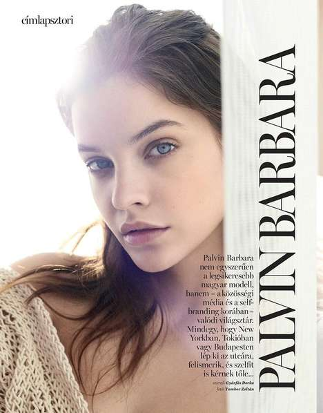 Simple Sunny Cover Shoots - The Latest Marie Claire Hungary Issue Stars Model Barbara Palvin