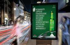 These Heineken Ads Show the Beer's Complete Ingredient List