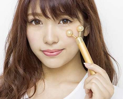 Revitalizing Skin Wands - This Electrical Skin Care Roller From Japan Makes Skin Feel Rejuvenated