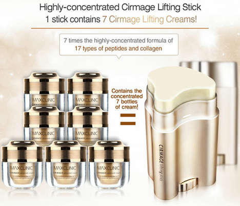 Anti-Wrinkle Skincare Sticks - The Max Clinic 3-in-1 Stick Aims to Tackle Multiple Skin Problems