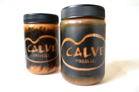 Edgy Peanut Butter Branding - Calve Punk is a Limited Edition Design Targeting a Niche Demographic