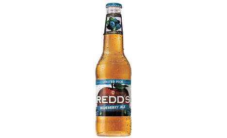 Blueberry Ale Beverages - Redd's Brewing Co.'s Newest Limited-Edition Flavor Blends Apple and Berry