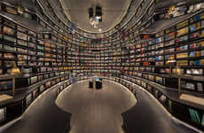 Optical Illusion Bookstores