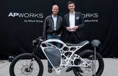 Airbus' 'Light Rider' is 30% Lighter Than Most Electric Motorcycles