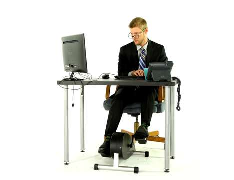 Connected Office Exercise Machines - The 'Cycli' Makes it Fun and Interactive to Workout from a Desk