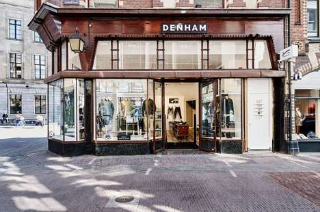 Charismatic Menswear Outposts - The Utrecht Denham Store Boasts a Salvaged Wooden Barn Floor