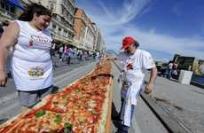 A Group of Italian Chefs Created a Long Pizza That Spans Two Kilometers