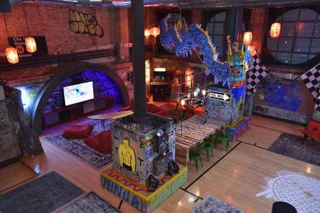 Cartoon Turtle Apartments - This Airbnb Apartment is Styled Like the Ninja Turtles' Hangout