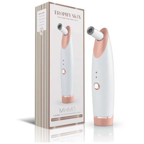 Anti-Aging Skin Maintenance Tools - The Trophy Skin 'MiniMD' Microdermabrasion System is Portable