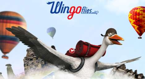 360-Degree Advergames - Turkish Airlines' 'WingoFlies' is the First-Ever 360 YouTube Video Game