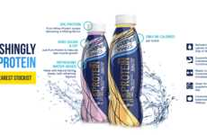 For Goodness Shake's Water is Packed with 20 Grams of Protein