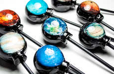 Planetary Lollipop Treats