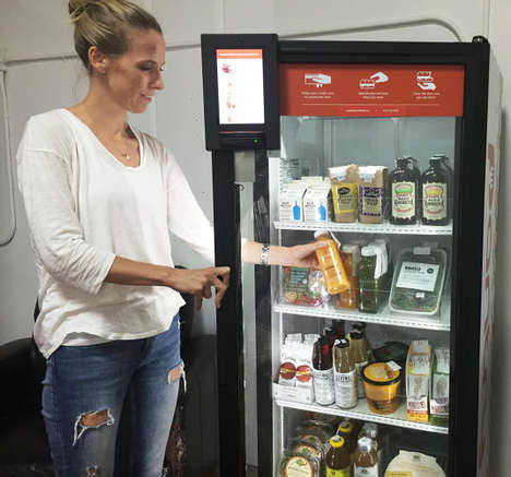 Local Food Vending Machines - The Vending Machines by Byte Foods are Stocked with Fresh Food