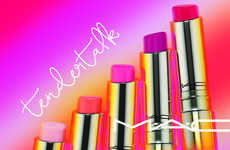 Color-Changing Lipsticks - The MAC Tendertalk Lip Balms Change Color According to Skin Chemistry