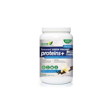 Grass-Fed Dairy Supplements - Genuine Health's Fermented Greek Yogurt Protein+ is First of Its Kind