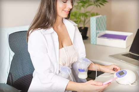 Smart Breast Pumps - The Lansinoh Smartpump is Bluetooth-Connected to Track Sessions