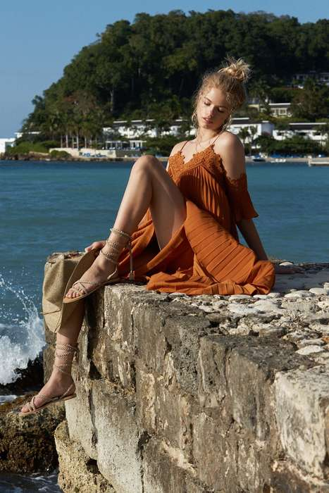 Effortless Summer Wardrobes - Hailey Clauson Stars in the REVOLVE Caribbean Cutie Catalog