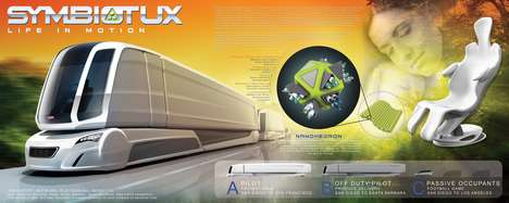 Passenger-Transporting Truck Concepts - The 'SymbiotUX' is Designed to Interact with Other Vehicles