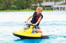 Kid-Friendly Inflatable Watercrafts