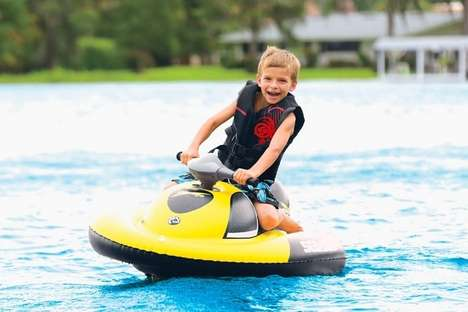 Kid-Friendly Inflatable Watercrafts - The Sea-Doo Inflatable Water Scooter is for Young Riders