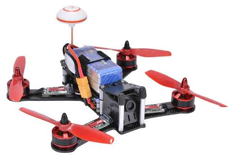 DIY Racing Drone Kits - The Makerfire BIBI BIRD 210 Quadcopter Kit is Focused on Speed