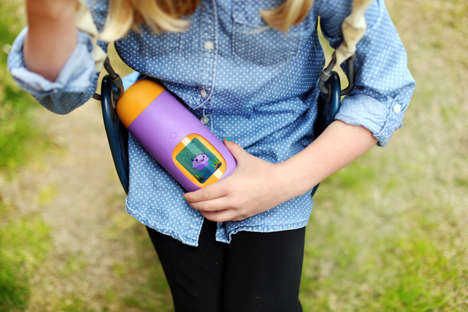 Motivational Drinking Bottles - The Gululu Water Bottle is Interactive to Keep Kids Hydrated
