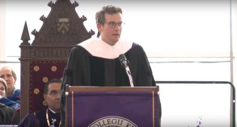 Learning to Listen - The Speech on Listening Given by Author John Green Analyzes Adulthood Fears