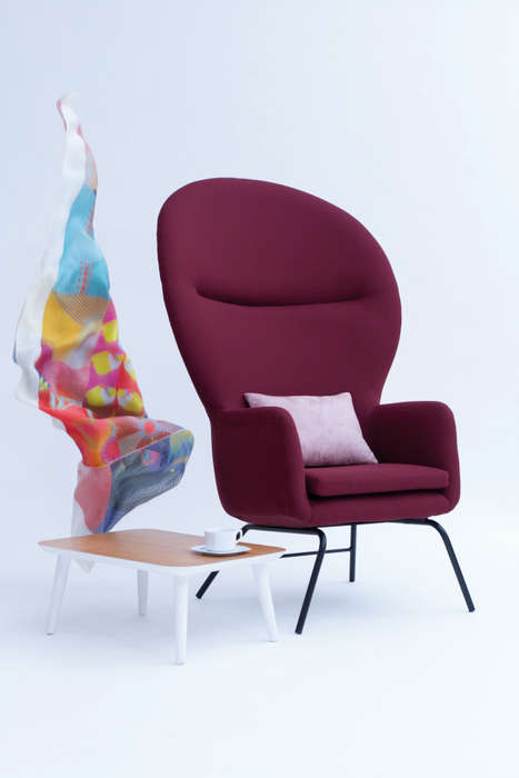 Cartoonish Chair Designs - These Modern Chair Designs are Simplistic and Elegantly Cartoonish