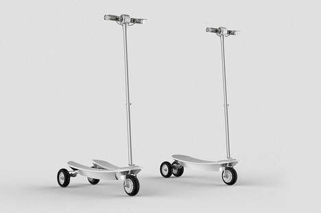 Adult Scooter Concepts - These Adult Motorized Scooters Offer a More Efficient Method of Transport