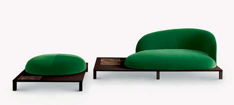 Botanical Bonsai Furniture - The Claesson Koivisto Seating Line is Inspired by Japanese Gardens