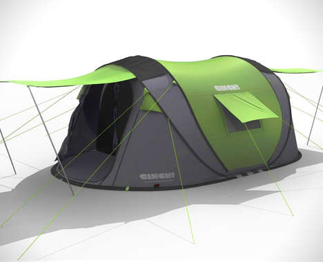 Pop-Up Backcountry Tents