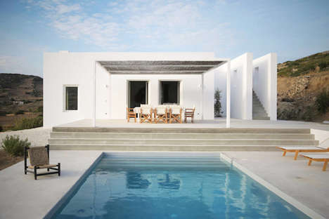 Greek Summer House - Maison Kamari by Re-act Architects Re-Interprets Cycladic Architecture