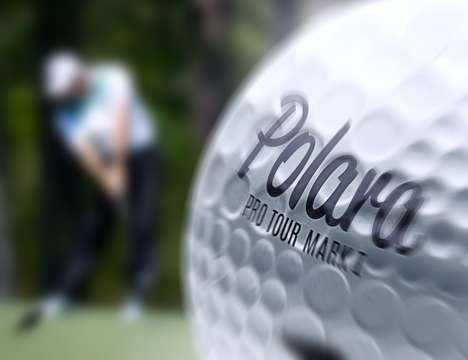 Aerodynamic Golf Balls - The Polara Pro Tour FS Mark I Golf Ball Design is Focused on Flight