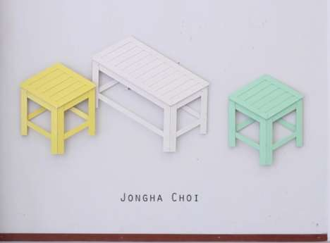 Wall Mountable Furniture Pieces - These Foldable Seats Can Mount onto Walls When Not Being Used