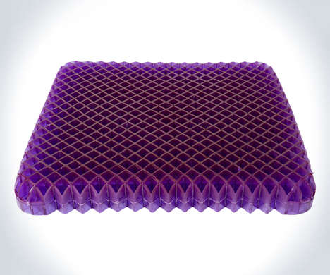 Pressure-Reducing Seat Cushions - The Royal Purple No-Pressure Seat Cushion is Supportive