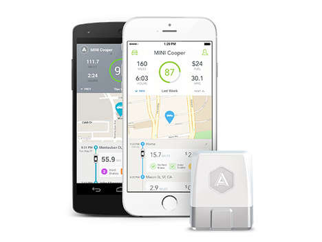 Wireless Car Information Devices - The 'Automatic' Connected Car Adapter Allows Access to Car Data
