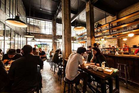Modern Torteria-Inspired Eateries - Bravo Loncheria in Mexico City is Inspired by Torta Stands