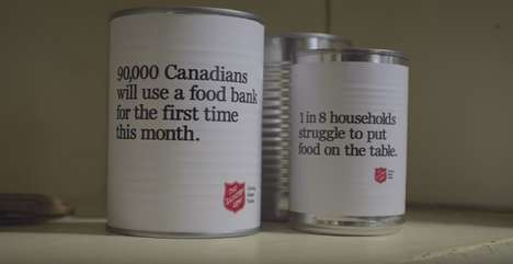 Poverty Awareness Open Houses - The Salvation Army Showed the Unseen Prevalence of Poverty in Canada