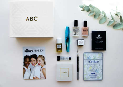 Bridal Beauty Subscriptions - Allure Partners with Brides Magazine to Offer Prestige Cosmetic Boxes