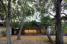 Extravagant Meditation Centers - This Stunning Meditation Center for Students was Built at Stanford