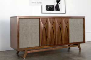 The EGB2 Record Console Also Functions as a Bar